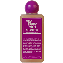 hvalpeshampoo 200 ml.